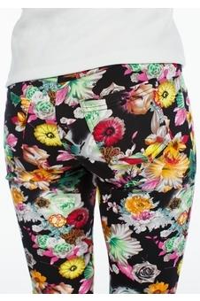 Облегающие брюки с рисунком 30121-2