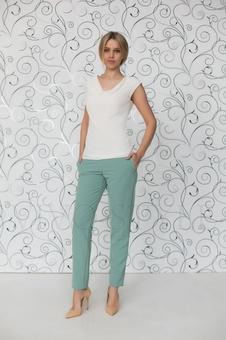 Классические прямые брюки 30125-2
