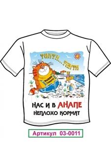 Мужская футболка с рисунком 030011-1