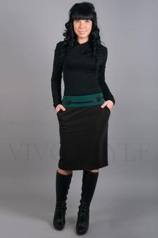 Юбка женская офисная 40051-1