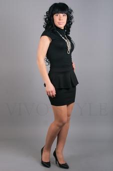 Юбка женская с баской 40057-3