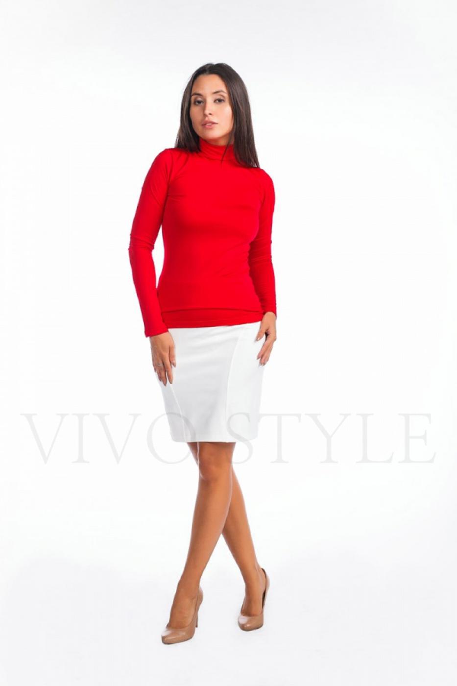 трикотажная юбка для офиса