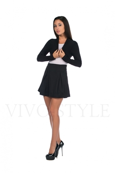 Юбка женская со складками 40081-1