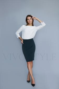 Женская юбка до колена 40090-9