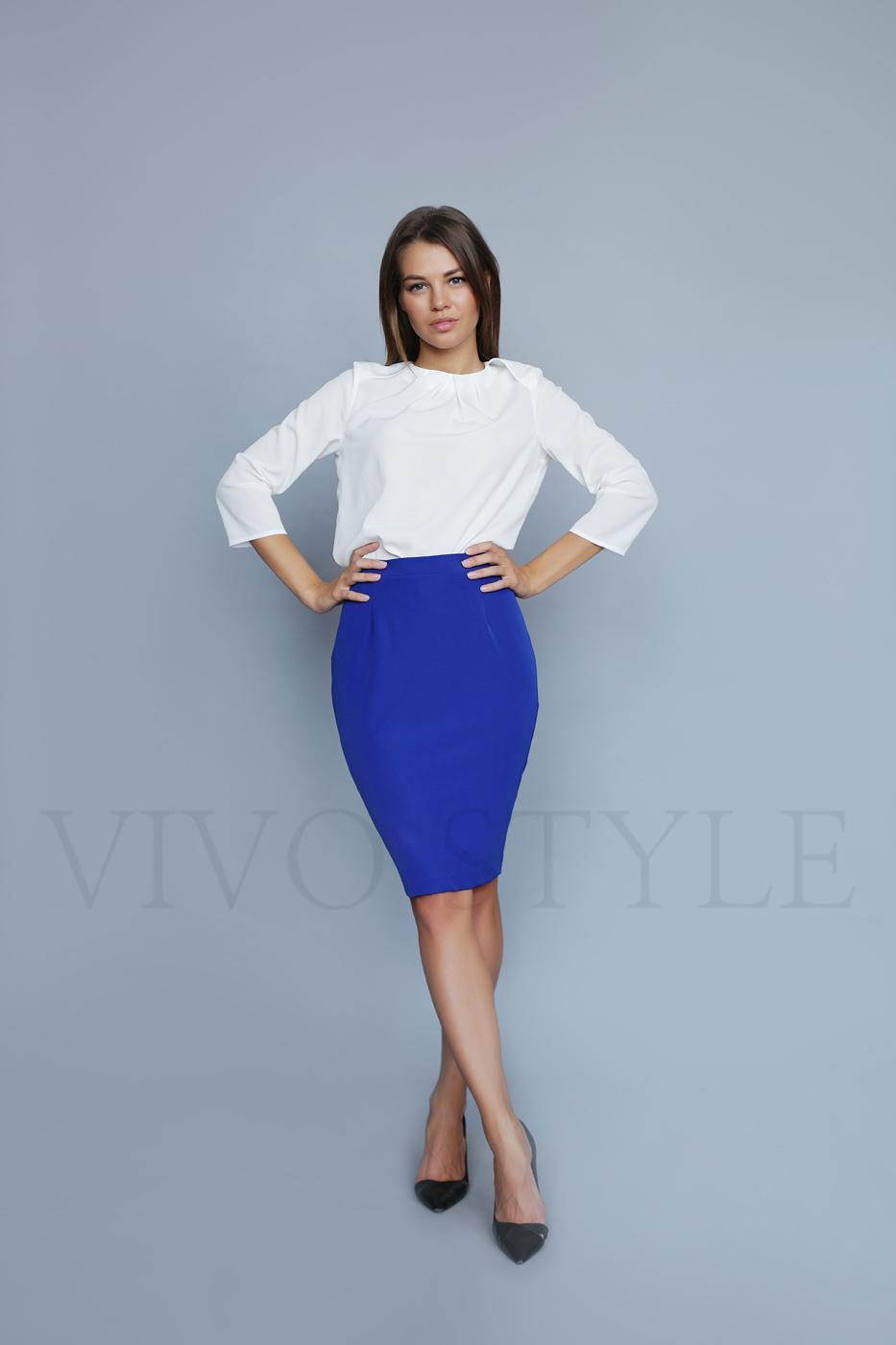 классическая юбка из вискозы
