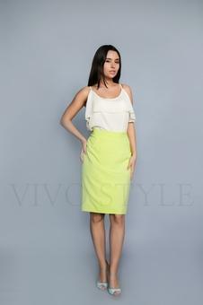Женская юбка до колена 40090-3