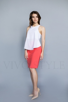 Женская юбка до колена 40090-5