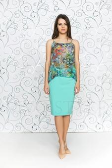 Женская юбка до колена 40090-6