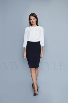 Женская юбка до колена 40090-10