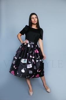 Юбка женская в стиле 50-х 46002-2