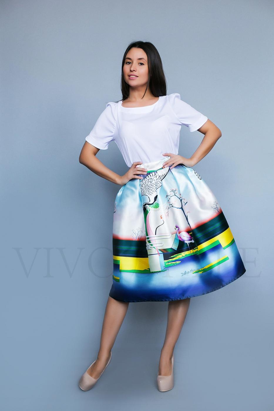Креативная женская юбка
