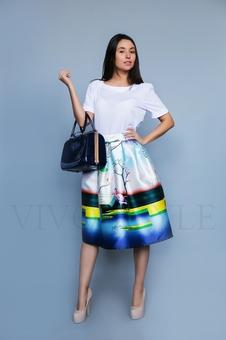 Креативная женская юбка 46006-1