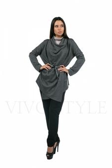 Кардиган женский с длинным рукавом 10279-1