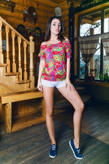 Матрешка блуза