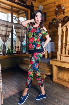 Блуза женская свободная 10261-3