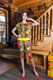 Блуза женская свободная 10261-4