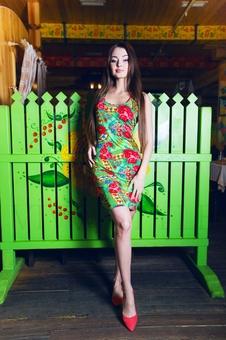Платье борцовка 20199-6