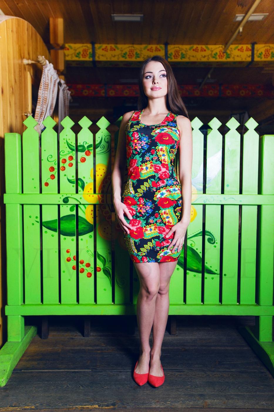 Платье борцовка