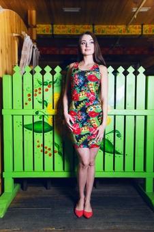 Платье борцовка 20199-8