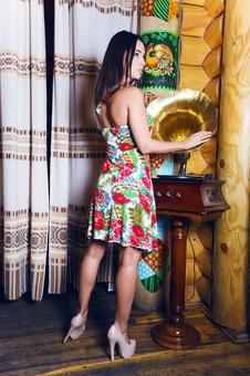 Матрешка платье