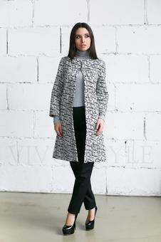Пальто в стиле шанель 70237-1