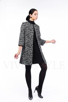 Пальто в стиле шанель 70237-3