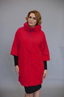 Верхняя одежда с воротником стойка