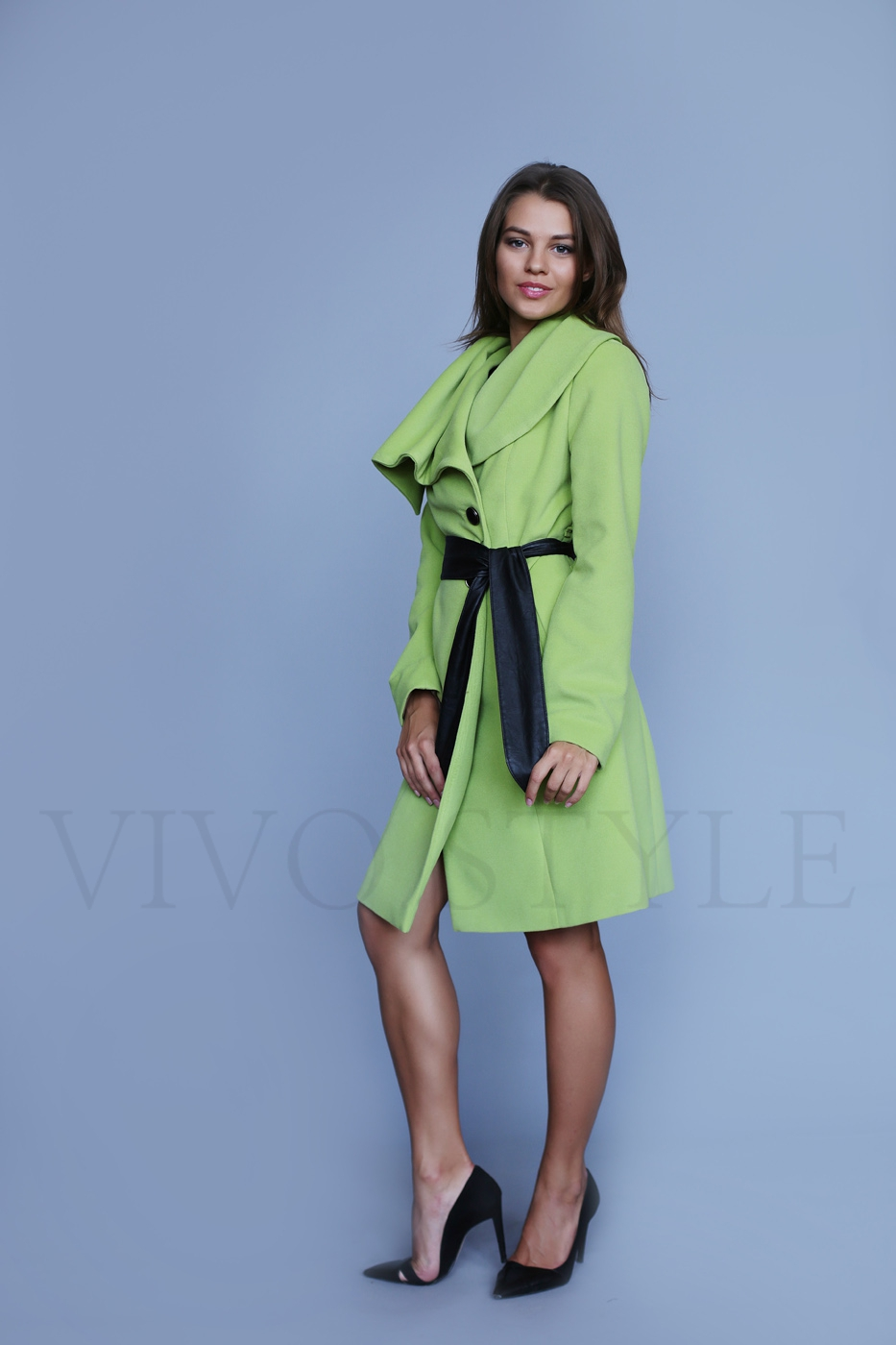 Классическое пальто женское