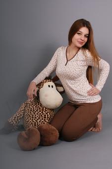 Трикотажная пижама 90011-1