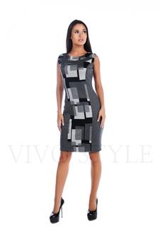 Платье миди 20047-1