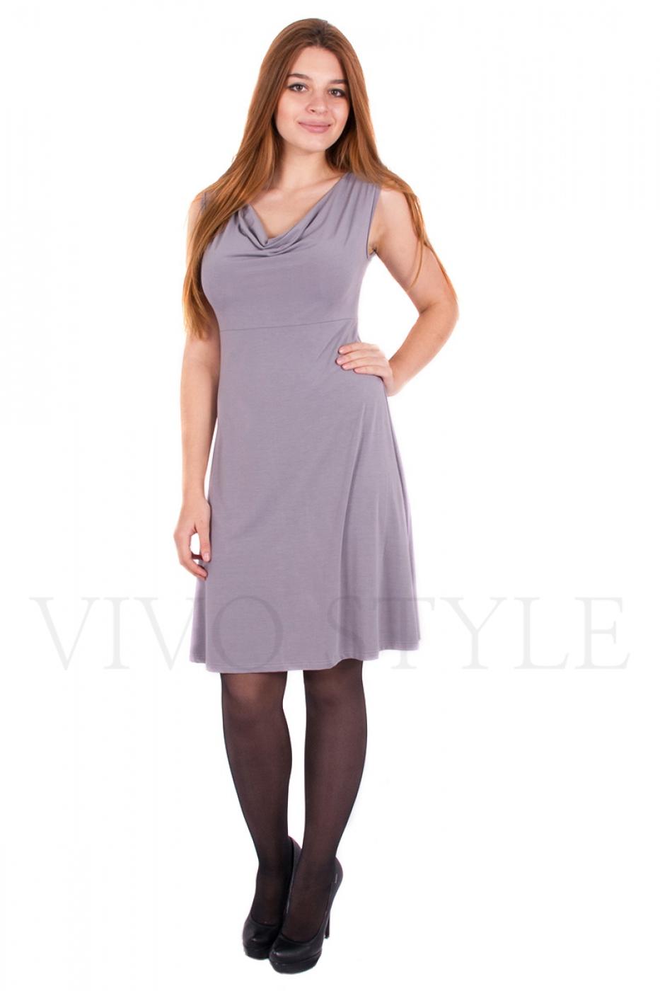 Платье с отрезным лифом