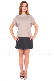 Платье с горловиной ❝лодочка❝ 20068-2
