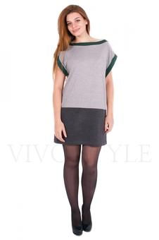 Платье с горловиной ❝лодочка❝ 20068-1