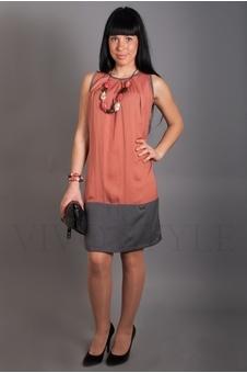 Платье прямого силуэта 20069-1