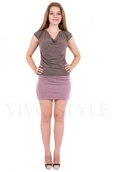 Платье с втачным поясом 20070-3