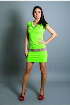 Платье с втачным поясом 20070-1
