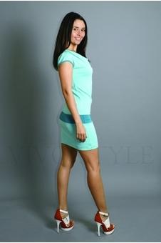 Платье с втачным поясом 20070-4