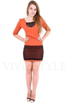 Короткое платье 20076-1