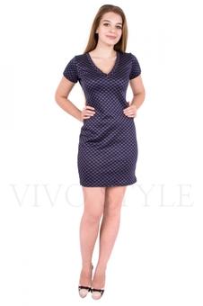 Платье с коротким рукавом 20081-1
