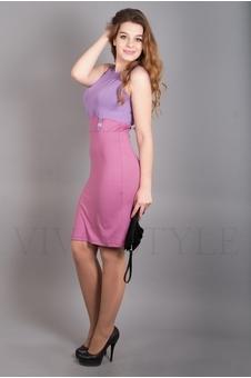 Прилегающее платье 20095-3