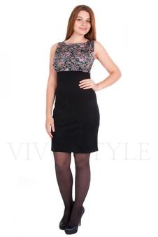 Прилегающее платье 20095-2