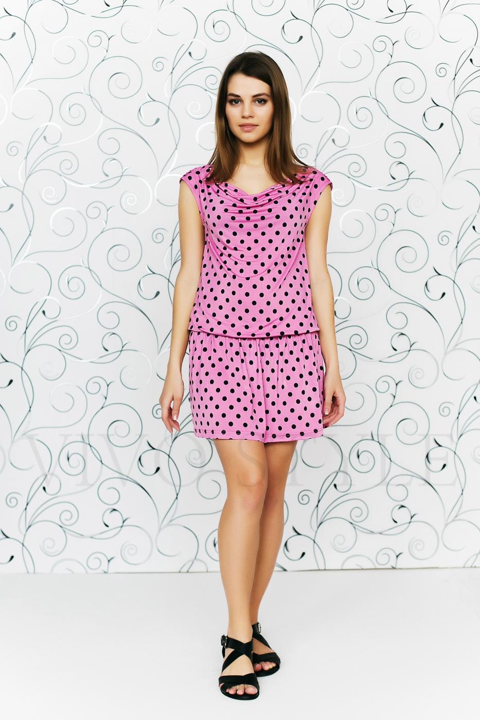 Платье с драпировкой