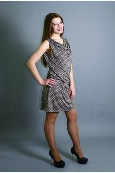 Платье из струящейся ткани 20105-3