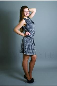 Платье из струящейся ткани 20105-1
