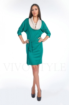 Платье с рукавом «летучая мышь» 20109-1