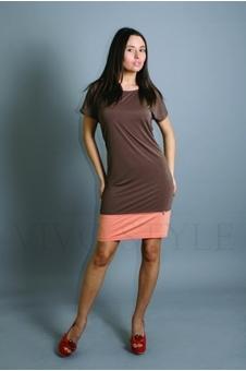Платье футболка 20111-2