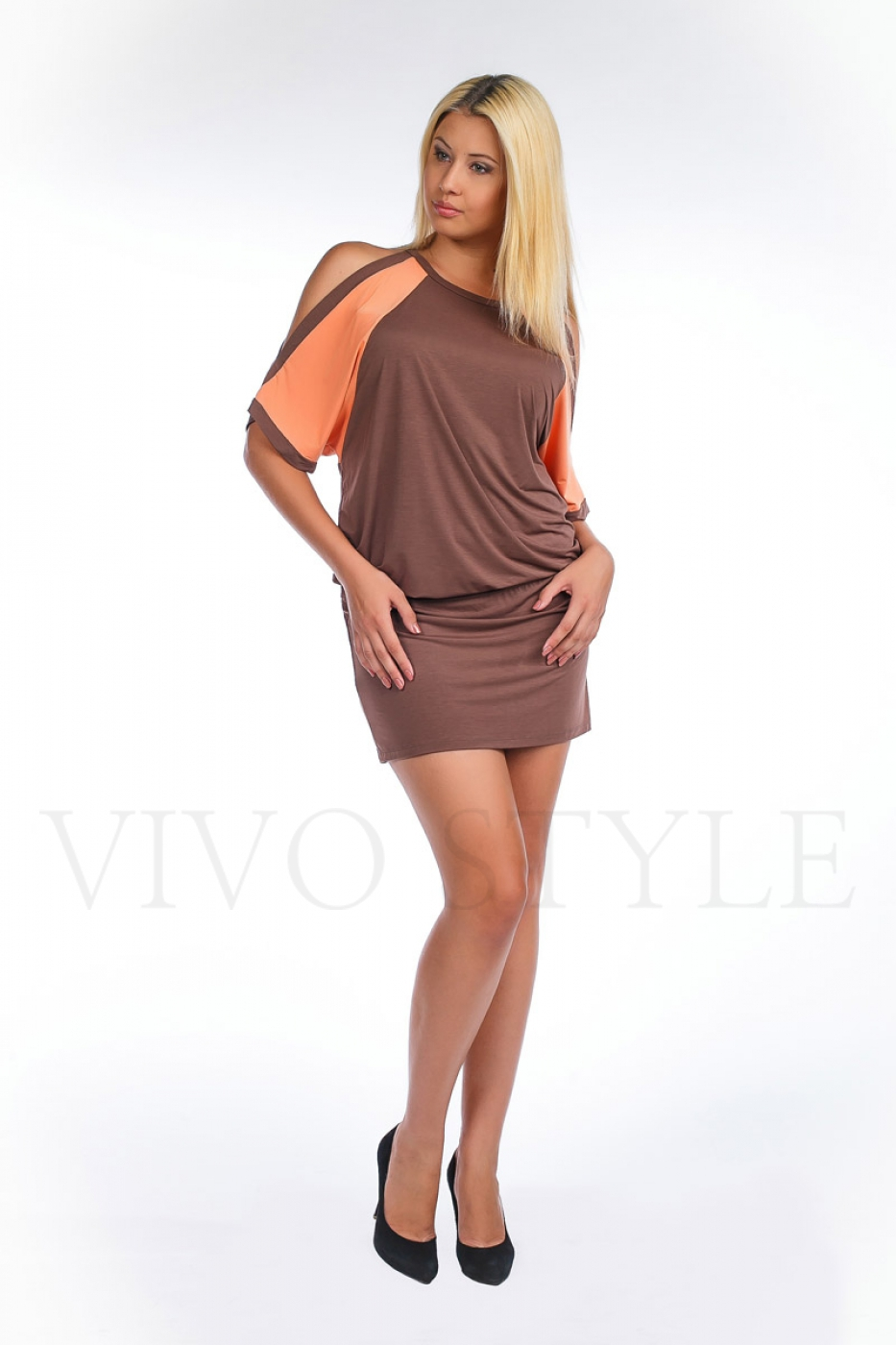 Платье женское короткое