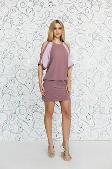 Платье женское короткое 20119-3