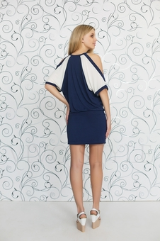 Платье женское короткое 20119-4