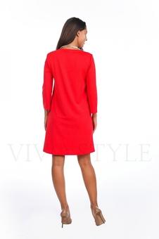 Платье однотонное 20120-2